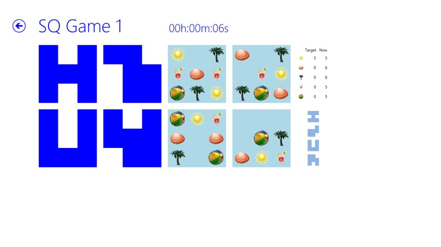 SunshineQuest game board
