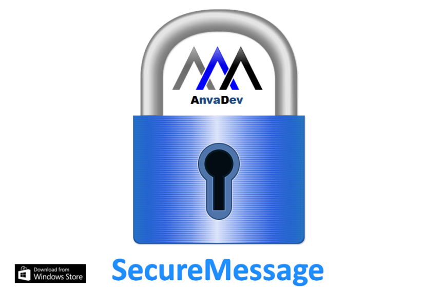 SecureMessage splash screen